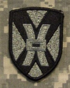135th Sustainment Command ACU Patch - Foliage Green