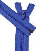 60cm Zipper YKK #3 Thin Nylon-coil Separating ~ Formal Wear ~ 918 Royal Blue