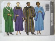 Butterick Pattern 3820 Unisex Robe and Collar