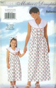 Butterick Sewing Pattern 5018 Misses'/ Girls' Dress & Headband, Misses' Sizes 6-18; Girls' Sizes 2-6X