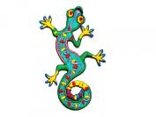 Lizard Gekko Salamander Retro Hippie Hippy Boho 70s Appliques Hat Cap Polo Backpack Clothing Jacket Shirt DIY ... Iron on Patch