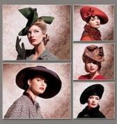 Vogue Patterns V7464 Vintage Hats, All Sizes