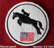 """""""Patch Me Up!"""" Iron-On patches-Equestrian Hunter Jumper"""