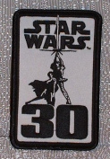 11cm Star Wars Lucas Film Movie 30th Anniversary Patch