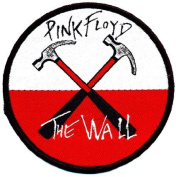 Pink Floyd Wall Hammers sew-on cloth patch