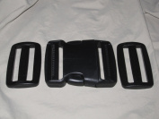 Side-Squeeze Buckle and Slidelocks - 5.1cm wide -