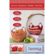 Hemma Design Patterns-Britta Hoopster Basket