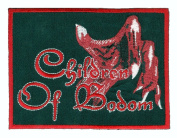 Children of Bodom - Red Hand - Embroidered Iron On Patch