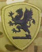Michigan Army National Guard OCP Multicam Patch