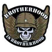 Hot Leathers Brotherhood Skull Patch