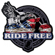 Hot Leathers Flag Bike Patch