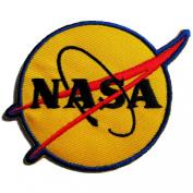 NASA Logos Iron on Patches #Yellow