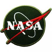 NASA Logos Iron on Patches #Green