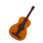 Musical Instrument Guitar DIY Applique Printed Felt Iron on Patch