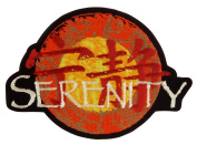 Serenity/Firefly TV Series Embroidered Logo Patch 11cm