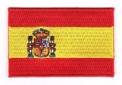Spain Embroidered Country Flag Patch
