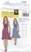 Butterick Sewing Pattern B5193 Miss Dress