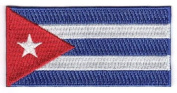 Cuba Embroidered Country Flag Patch