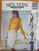 McCall's 5078 Sewing Pattern ~ Sew News Collection Misses' Skirts & Pants, Sizes 10-12-14