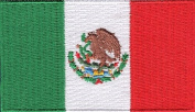 Mexico Embroidered Country Flag Patch