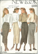 New Look 6444 Sewing Pattern Misses Skirts Size 8-18