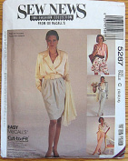 Sew News Fashion Collection McCall's 5287 Pattern ~ Easy Misses' Skirt, Pants, Shorts, Sizes 10-14