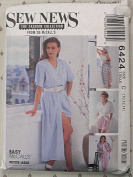 Sew News McCall's 6424 Sewing Pattern - Misses' Shirt, Top, Skirt, Pants, Shorts, Sizes 10, 12, 14