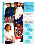 Step by Step Sewing Pattern Tailored Shirt Size 4 - 22