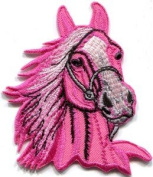 Horse Colt Bronco Filly Mustang Pony Stallion Steed Appliques Hat Cap Polo Backpack Clothing Jacket Shirt DIY Embroidered Iron On / Sew On Patch #3