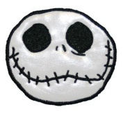 Disney Nightmare Before Christmas Jacks Head Iron On PVC Applique Patch