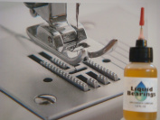 Liquid Bearings, The TOP QUALITY 100%-synthetic oil for sewing machines, makes them quieter and smoother, also frees sticky mechanisms and prevents rust!