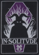 IN SOLITUDE-COFFIN-WOVEN PATCH