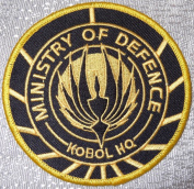 Battlestar Galactica Ministry of Defence Kobol HQ Logo Embroidered PATCH