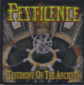 PESTILENCE-TESTIMONY OF THE ANCIENTS-WOVEN PATCH
