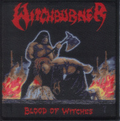 WITCHBURNER-BLOOD OF WITCHES-WOVEN PATCH