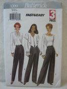 Butterick Pattern 3209 Misses'/Misses' Petite Pants