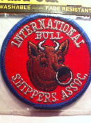 """Embroidered Patch """"International Bull Shippers Assoc."""""""