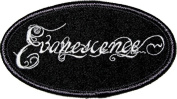 Evanescence Music Band Patch - Oval Script Name Logo - Applique
