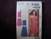 Kwik Sew Misses' Tops & Skirts Pattern 3574