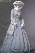 Mccall's Civil War Era Costumes Sewing Pattern #M4697 Misses size EE