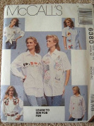 MISSES SHIRTS SIZE 12-14 LEARN TO SEW FOR FUN MCCALLS SEWING PATTERN #6380