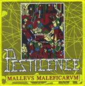 PESTILENCE-MALLEUS MALEFICARUM-WOVEN PATCH
