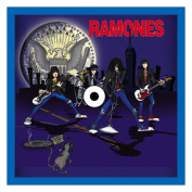 The Ramones Cartoon Embroidered Patch