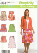 Simplicity 4703 Skirts
