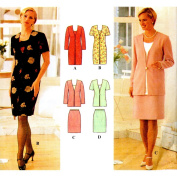 Simplicity Sewing Pattern 7107 Misses' Dress or Top & Skirt, Size P
