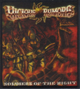 VICIOUS rumours-SOLDIERS OF THE NIGHT-SUBLIMATION PATCH