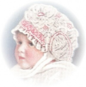 Vintage Crochet PATTERN to make - 1920 Antique Baby Cap Hat Bonnet. NOT a finished item. This is a pattern and/or instructions to make the item only.