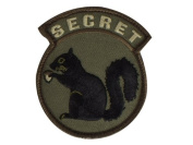 "Mil-Spec Monkey ""Secret Squirrel hook and loop Patch - Forest"