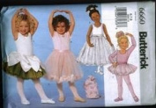 Butterick 6660 Size 6-8 Skating or Ballet Costume