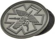 Battle(TM) Paramedic Rubber Velcro Patch by Hazard 4